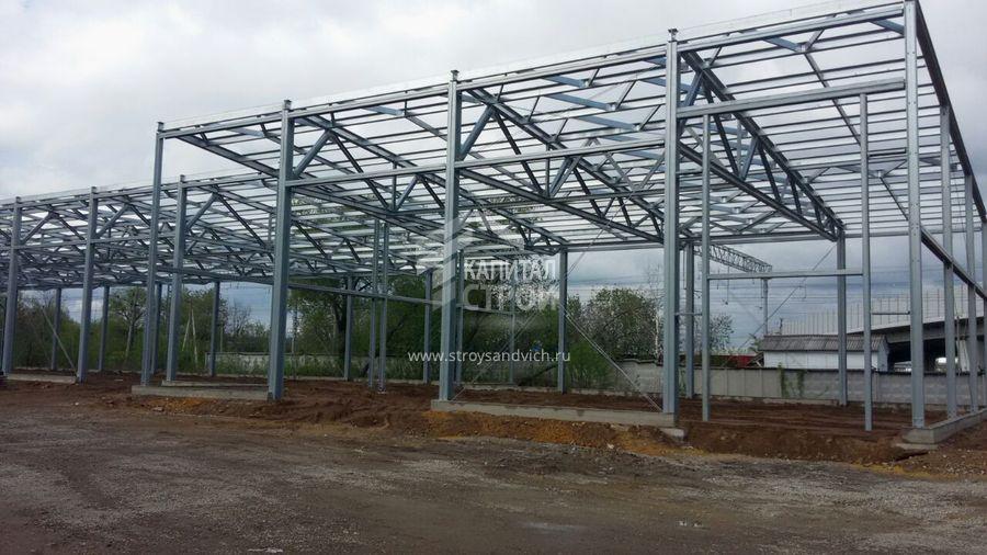 Строительство торгового центра г.Котельники